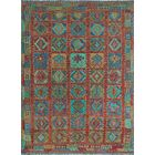 One-of-a-Kind Renita Kilim Hand-woven Wool Brown/Red Area Rug