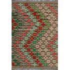 One-of-a-Kind Renita Kilim Hand-woven Wool Beige/Green Area Rug