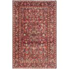 One-of-a-Kind Millay Sherazi Saba Hand-Knotted Wool Red Area Rug