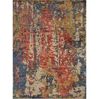 One-of-a-Kind Wobnar Oushak Matheus Hand-Knotted Gold/Red Area Rug