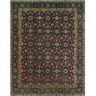 One-of-a-Kind Millikan Distressed Maisie Hand-Knotted Wool Blue Area Rug