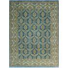 One-of-a-Kind Suzann Fine Chobi Hand-Knotted Beige/Blue Area Rug