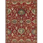 Mizer Transitional Border Red Area Rug Rug Size: 5'3'' x 7'3''
