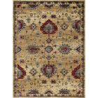 Mizer Transitional Border Beige Area Rug Rug Size: 8'9'' x 12'3''