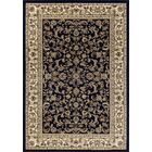 Elica Premium Quality Traditional Navy Area Rug Rug Size: Rectangle 6'7