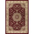 Elica Premium Quality Traditional Red Area Rug Rug Size: Rectangle 6'7