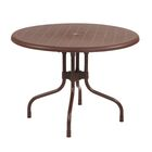 Kirton Commercial Grade Dining Table Color: Brown