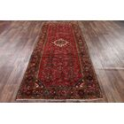 One-of-a-Kind Traditional Hamedan Persian Hand-Knotted 4'3