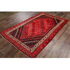 One-of-a-Kind Lori Shiraz Vintage Persian Traditional Hand-Knotted 4'10