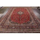 One-of-a-Kind Classical Kashan Vintage Persian Hand-Knotted 10'2