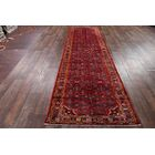 One-of-a-Kind Traditional Hamedan Traditional Persian Hand-Knotted 3'10