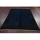 One-of-a-Kind Qashqai Traditional Shiraz Gabbeh Persian Hand-Knotted 5'8