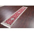 One-of-a-Kind Peltier Traditional Nain Isfahan Persian Hand-Knotted 1'11