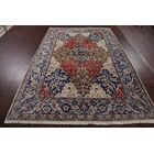 One-of-a-Kind Tabriz Persian Hand-Knotted 6'9