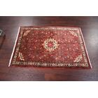 One-of-a-Kind Genuine Geometric Tribal Persian Hand-Knotted 3'6