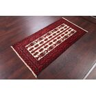 One-of-a-Kind Classical Balouch Vintage Persian Hand-Knotted 2'7