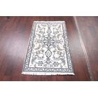 One-of-a-Kind Classical Nain Isfahan Persian Traditional Hand-Knotted 2'10