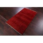One-of-a-Kind Classical Shiraz Gabbeh Persian Hand-Knotted 3'4