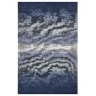 Axelrod Abstract Ombre Blue Area Rug Rug Size: Rectangle 7'8