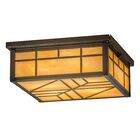 Angelia Square 4-Light Flush Mount