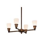 Mosser 4-Light Candle Style Chandelier
