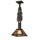 Evered Tall Pines 1-Light Mini Pendant