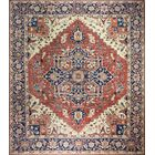 One-of-a-Kind Harshbarger Hand-Knotted Wool Rust Area Rug