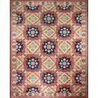 One-of-a-Kind Mclellan Hand-Knotted Wool Rust Area Rug