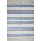 One-of-a-Kind Hartzler Hand-Knotted Wool Blue/Gray Area Rug Size: Rectangle 6' x 9'
