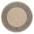 Molden High-Quality Gray Indoor/Outdoor Area Rug Rug Size: Round 6'6