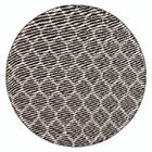 Ramsay Brown Indoor/Outdoor Area rug Rug Size: Round 6'6