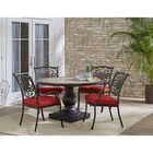 Copper 5 Piece Dining Set with Cushions