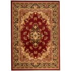Pettaway Burgundy Area Rug Rug Size: Rectangle 7'4