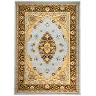 Pettaway Blue/Brown Area Rug Rug Size: Rectangle 7'4