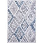 Sparta Gray/Cream Area Rug Rug Size: Runner 2'2