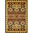 Wallin Gold/Brown Area Rug Rug Size: Rectangle 5'1
