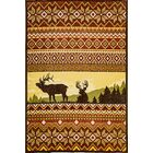 Wallin Yellow/Red Area Rug Rug Size: Rectangle 7'10
