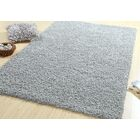 One-of-a-Kind Langione Shag Silky Hand Woven Cotton Silver/Light Gray Are Rug
