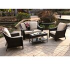Kinley 4 Piece Sofa Set with Cushions