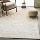 Shenk Abstract Beige/White Area Rug Rug Size: Rectangle 7'10
