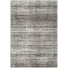 Mckeel Abstract Gray/Black Area Rug