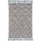 Rego Hand-Knotted Wool Storm Area Rug Rug Size: Rectangle 5'6