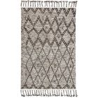 Rego Hand-Knotted Wool Stone Area Rug Rug Size: Rectangle 7'9