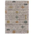 Reger Hand-Tufted Wool Silver Area Rug Rug Size: Rectangle 9'6