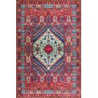 Fells Red Area Rug Rug Size: Rectangle 7'10