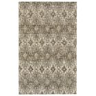 Reich Hand-Woven Gray Area Rug Rug Size: Rectangle 3'6