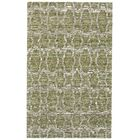 Reich Hand-Woven Green Area Rug Rug Size: Rectangle 5' x 8'