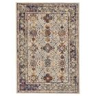 Gries Beige/Blue Area Rug Rug Size: Rectangle 5' x 8'