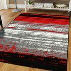 Mckeehan Red/Gray Indoor/Outdoor Area Rug Rug Size: Rectangle 8' x 11'