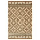 Weinmann Gold/Ivory Area Rug Rug Size: Rectangle 5' x 8'